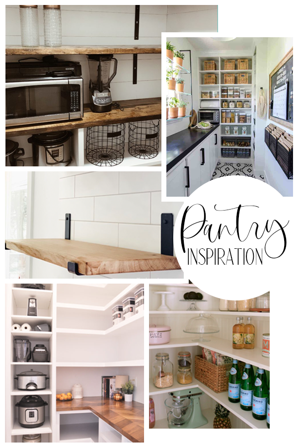 It's a place that we see every single day and that will be able to have a major impact on our daily joy. In the spirit of honoring the small corners of our home, here is the inspiration for our pantry.