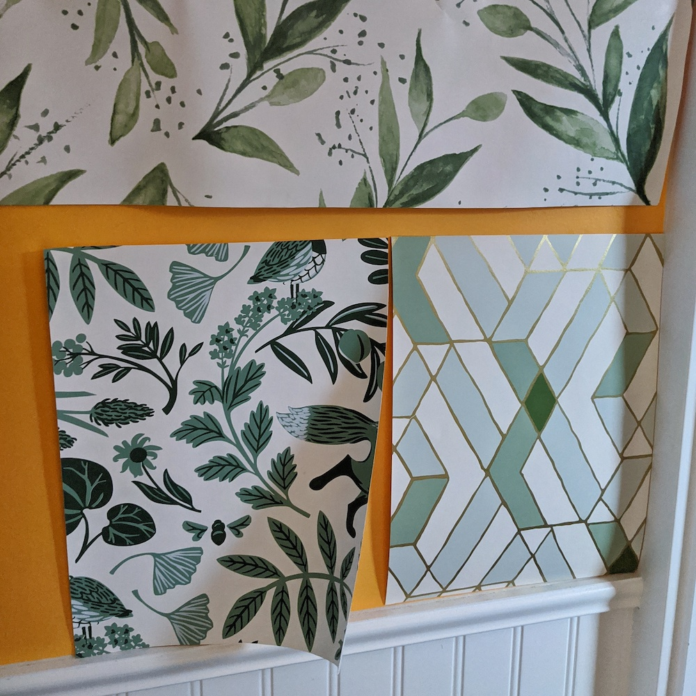 Do samples help you decide on wallpaper, paint or tile choices? Or do they just confirm that you should trust your gut?