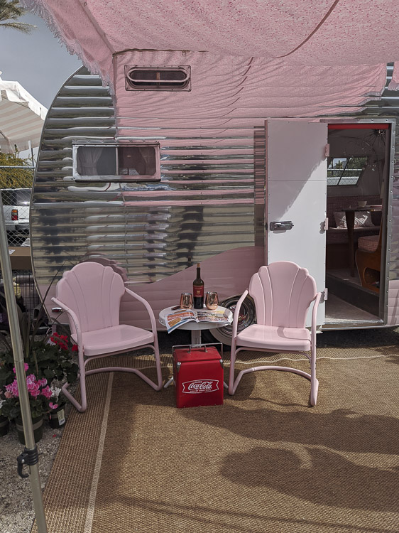 """We're keeping the Airstream dream alive while filing it solidly in the """"someday"""" pile, but visiting the Vintage Trailer Show in Palm Springs as a part of Modernism Week gave us so much inspiration that I thought it only fitting that I share some of the most inspiring vintage trailers we saw."""