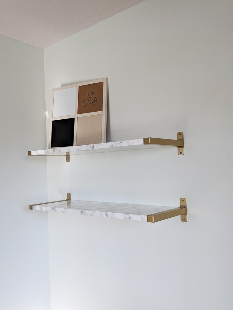 This pair of shelves give so much life and practical storage to my office. Tap to read how I hacked them out of the Ikea Bergshult & Granhult and let me know if you think it was a success.