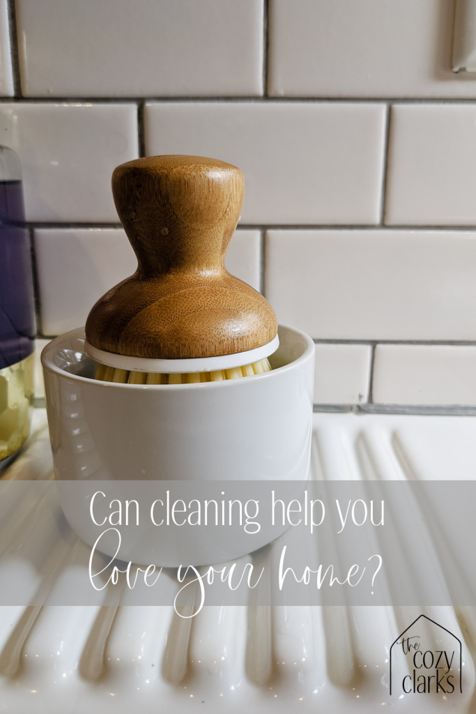 What do you think? Does cleaning up make you feel closer to your home?