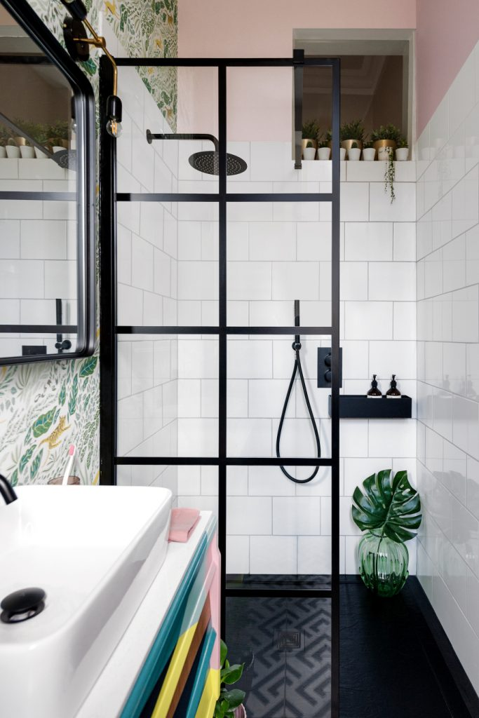 Would you do a shower shelf? A niche? A ledge? As we finish our bathroom remodel, we need to decide on shower storage.