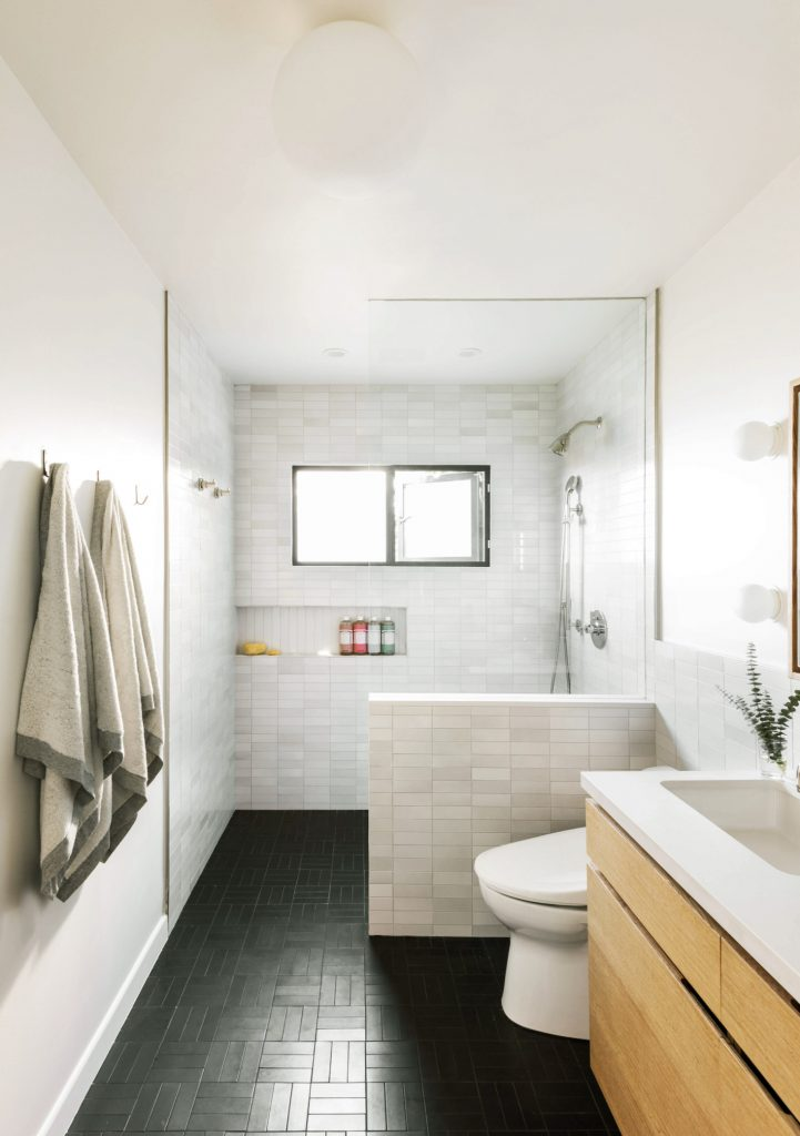 A linear shower niche is a fresh take on the classic, but is it the right option for our storage? Click to investigate shower ledges and shower shelves, too.