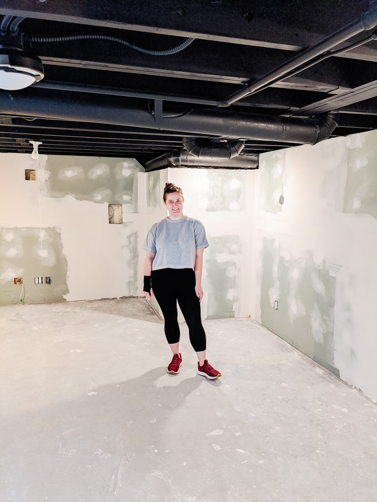 Today on the blog: Why (And How!) We Painted our Basement Ceiling Instead of Drywalling It. Click to read more.