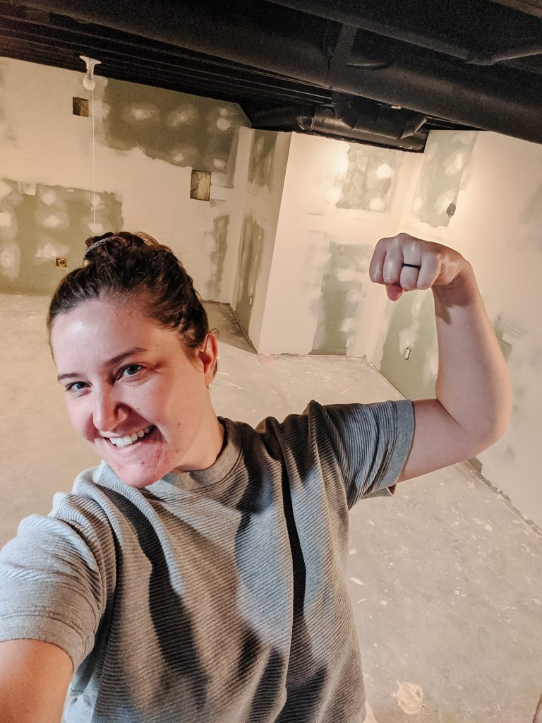Can beginners really do drywall? Should you just go ahead and texture the walls in your basement to cover up mistakes? How hard is drywall really? Answers from a fellow beginner today on The Cozy Clarks!