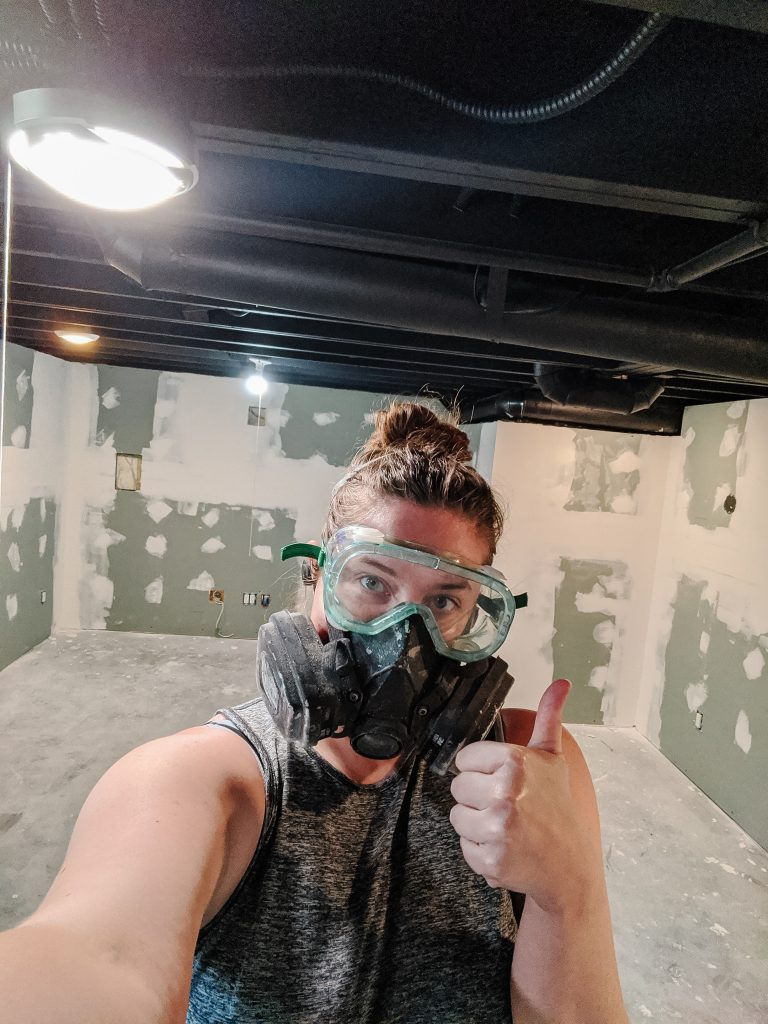 Can beginners really do drywall? Should you just go ahead and texture the walls in your basement to cover up mistakes? How hard is drywall really? Beginner drywall tips from a fellow beginner today on The Cozy Clarks!