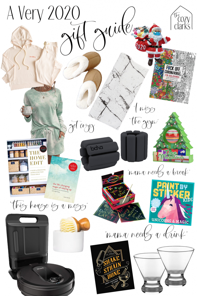 Whether your loved one needs a break or needs a drink, I've got you covered with a very 2020 gift guide, perfect for thoughtfully gifting to everyone on your list.