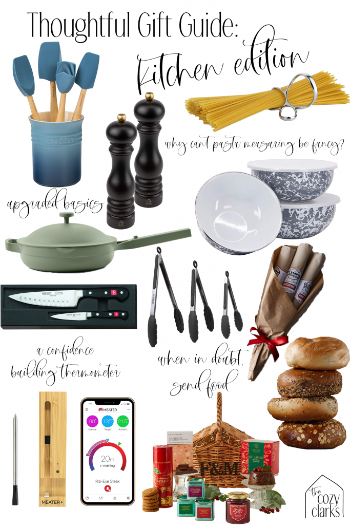 Looking for the best kitchen gifts? I've got 3 categories and 20+ specific gifts to get your thoughtful kitchen gift ideas flowing.