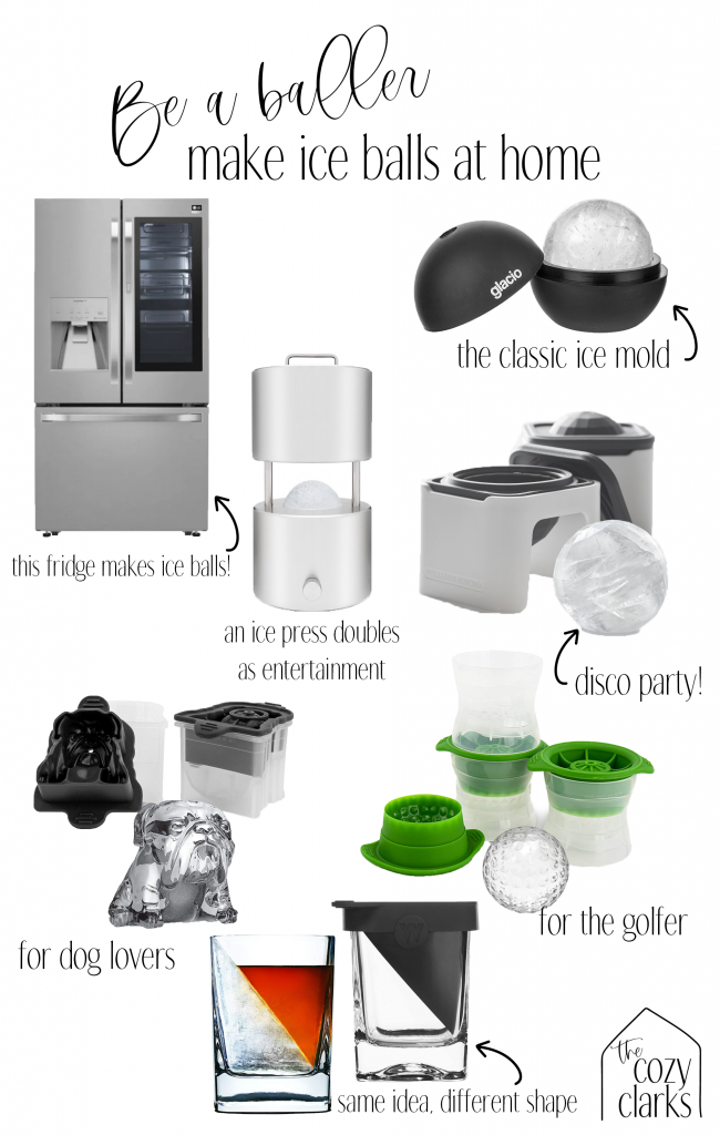Why are ice balls better and how can you make your own? Today I'm answering those questions and sharing a real, honest, non-sponsored review of the LG Craft Ice fridge. Is it worth it? I'm spilling all the (iced) tea.