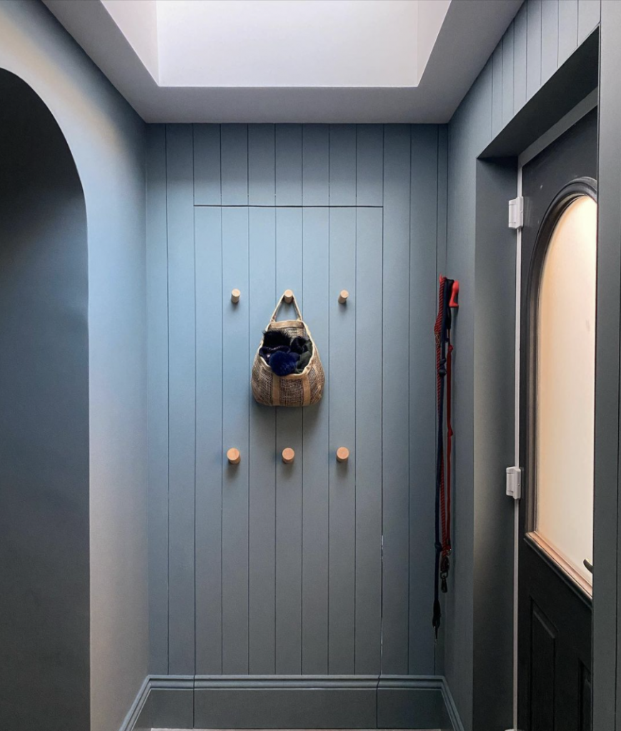 These doors hide away completely—perfect for hidden storage or secret speakeasies. While mom may have taught us that keeping secrets is wrong, this version is pretty fun! Click for more inspiration.